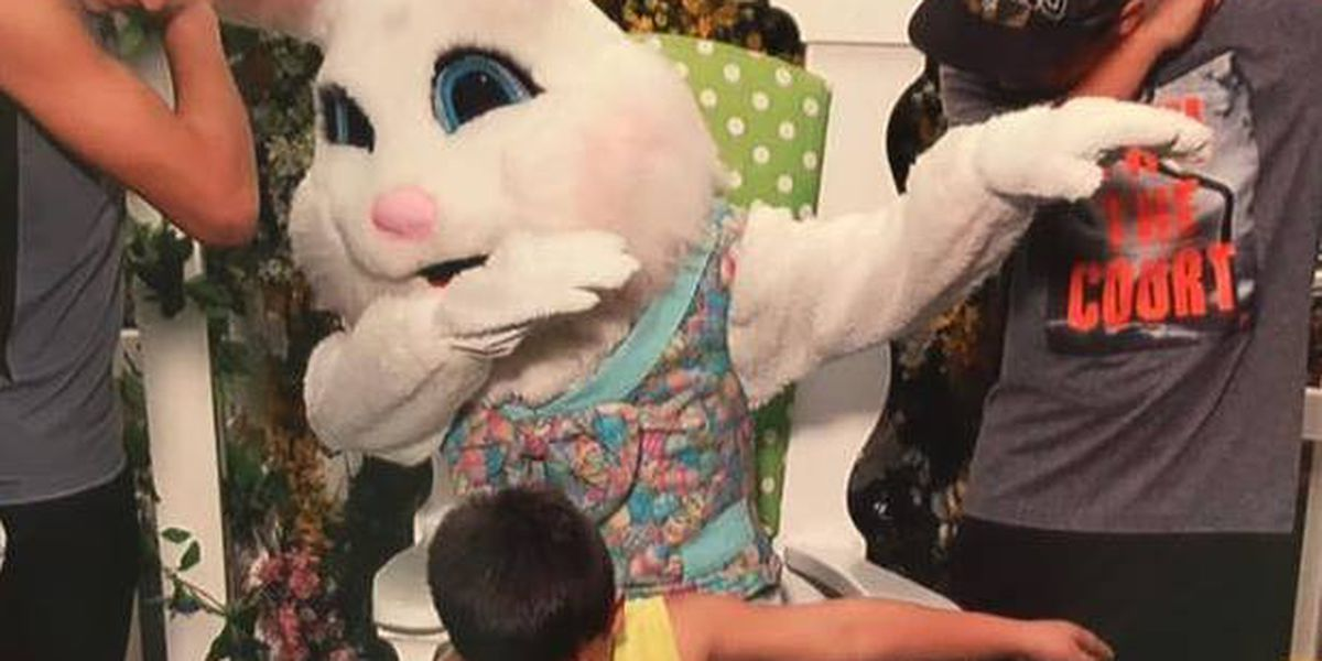 East Texas family teaches Easter Bunny how to 'dab'
