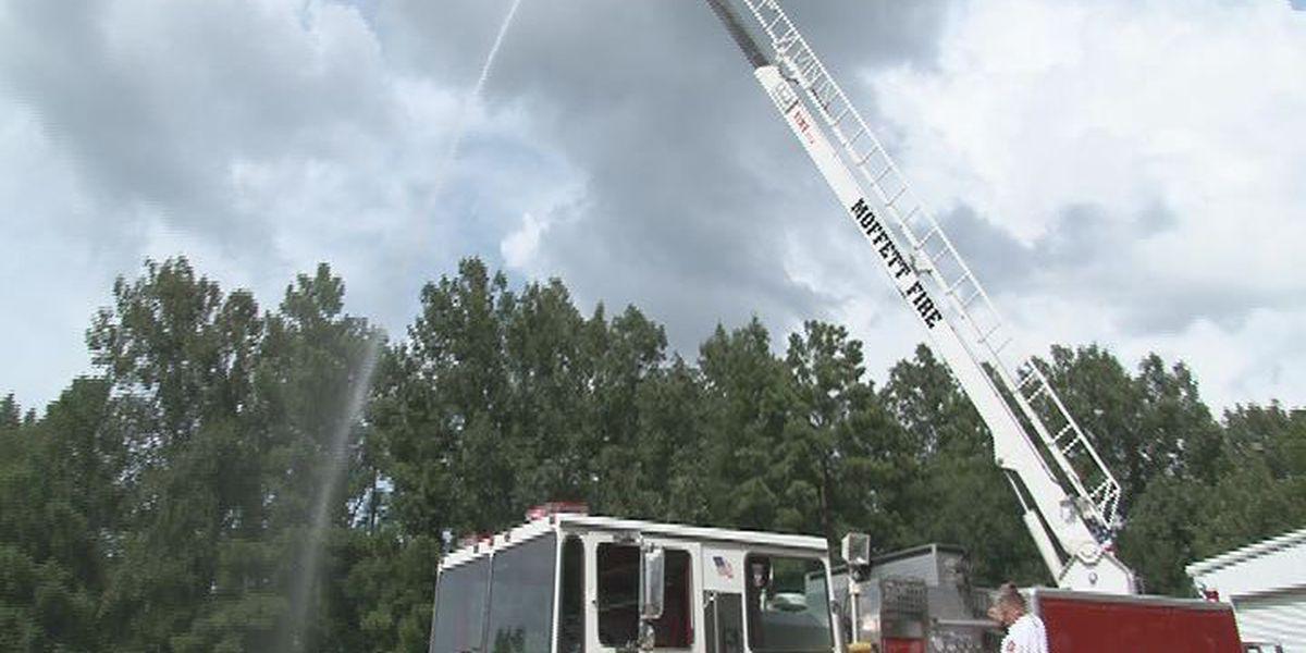 The Moffett Volunteer Fire Department gets a new set of wheels