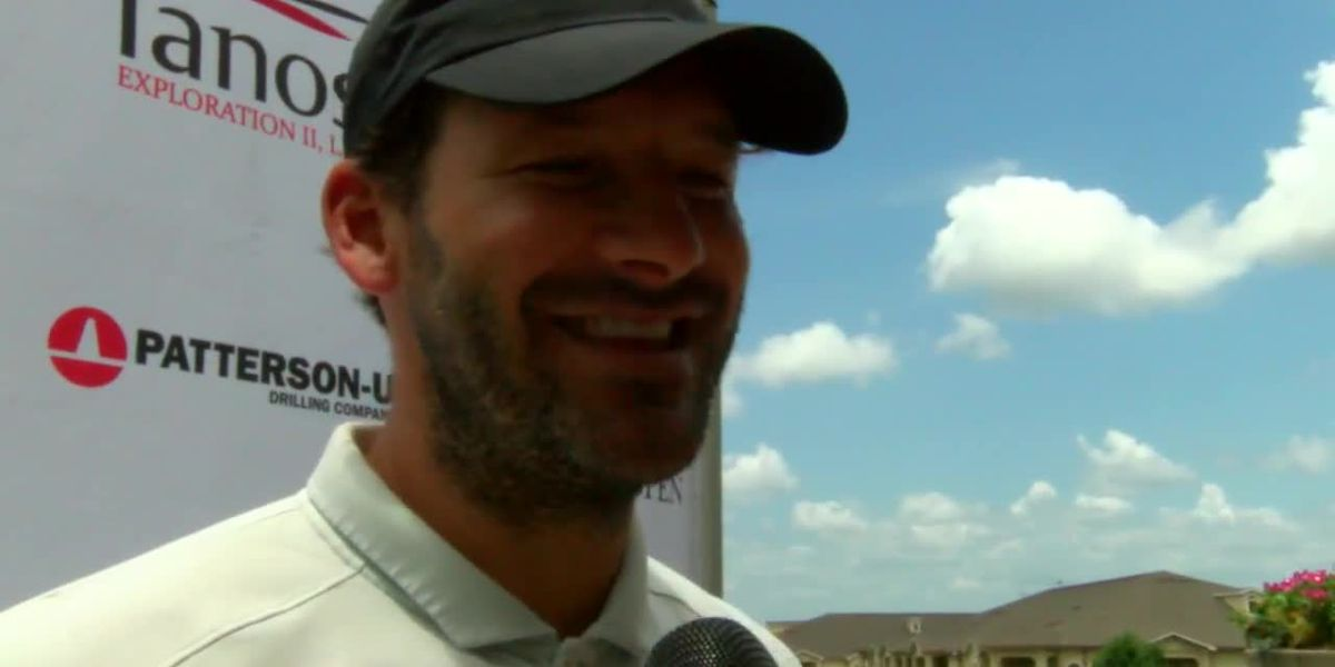 Slow start to Texas State Open ends with Tony Romo shooting one-under par in opening round