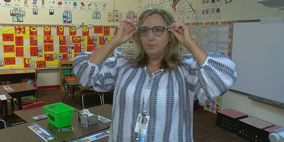 Face shields, virtual learning, and hand sanitizer: East Texas teachers prepare for unique first day of school