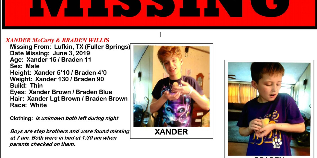 Authorities confirm 11-year-old missing boy found at home, 15 year old found at restaurant