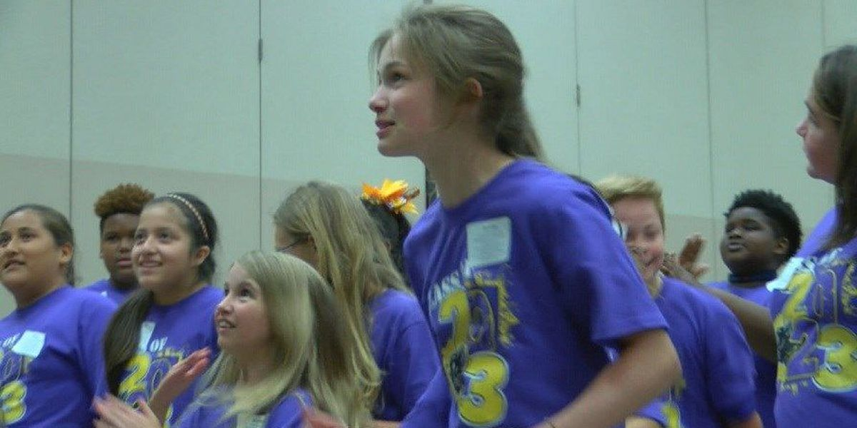 Lufkin ISD class of 2023 gets ready for middle school