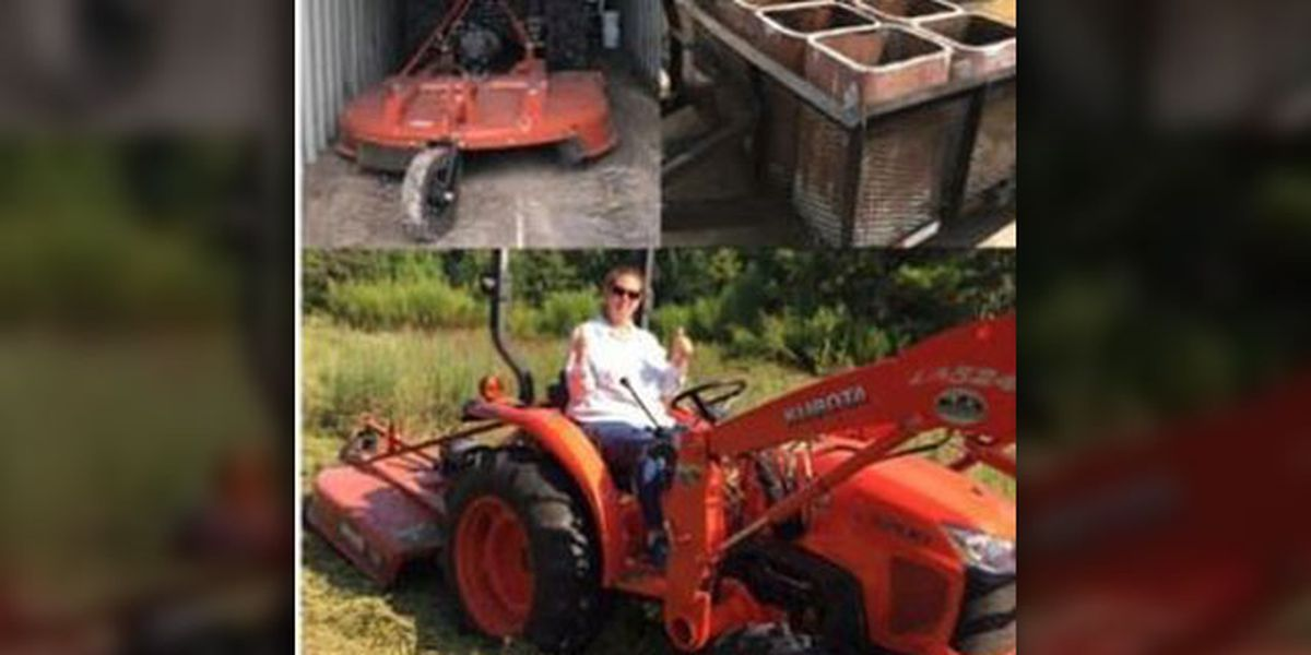 Groveton Police Department asking for public's help finding stolen equipment