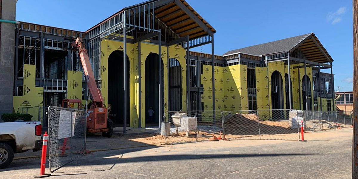 First Baptist Church Lufkin to bless new building during construction process