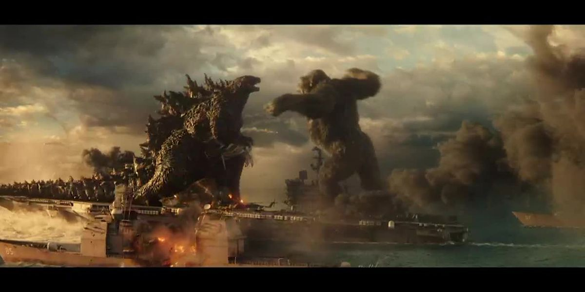 Review: Godzilla vs. Kong delivers monumental monster mayhem