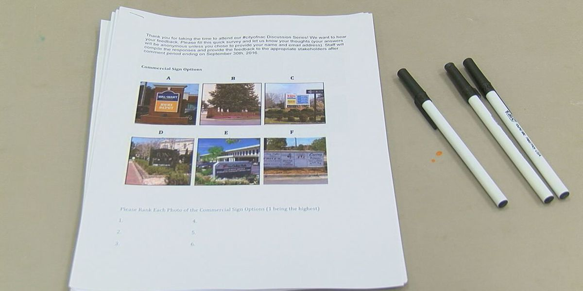 Nacogdoches meets to discuss commercial sign ordinance