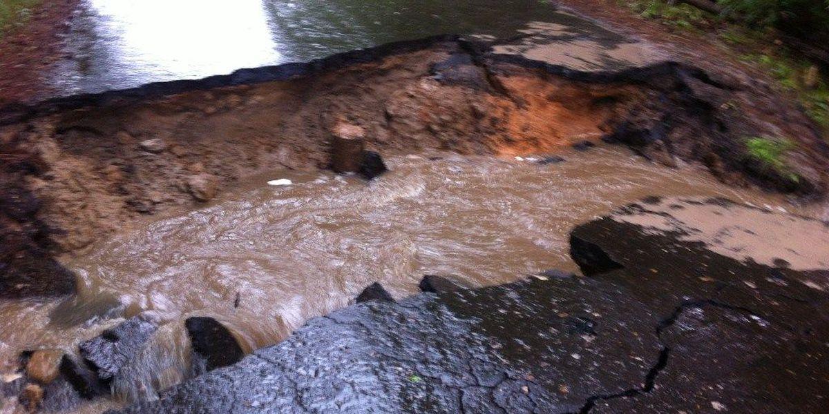 Rain woes: Culvert collapses in Diboll; Burke roads crumbling