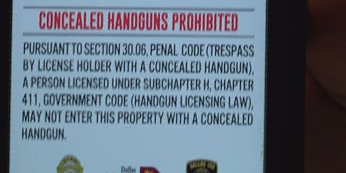 Open carry banned on Nacogdoches ISD campuses, at NISD events