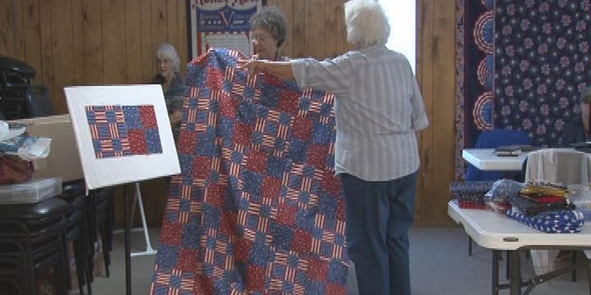 East Texas grandmas stitching for a cause