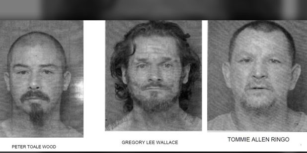Three suspects arrested for Texas prison break-in