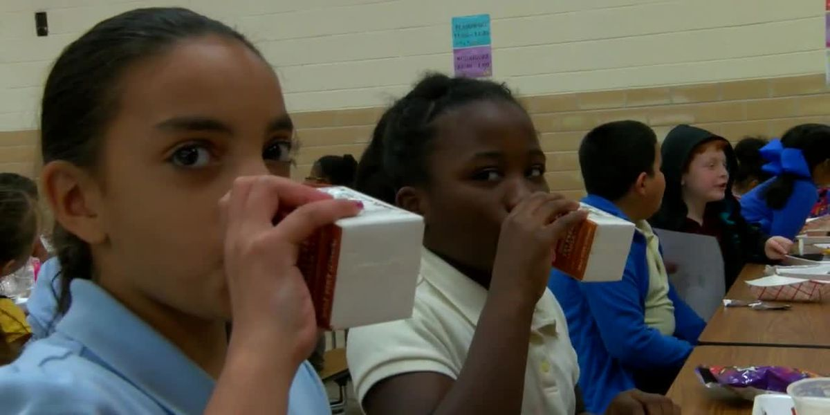 USDA IS RELAXING SCHOOL LUNCH GUIDELINES