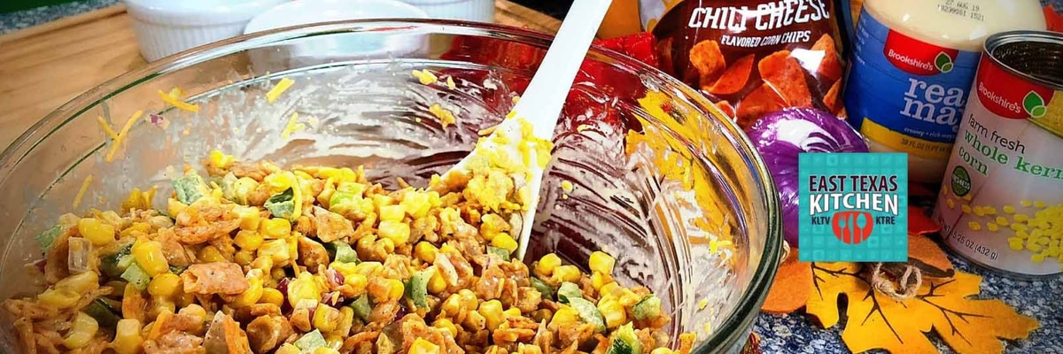 East Texas Kitchen--Fiesta Corn Salad