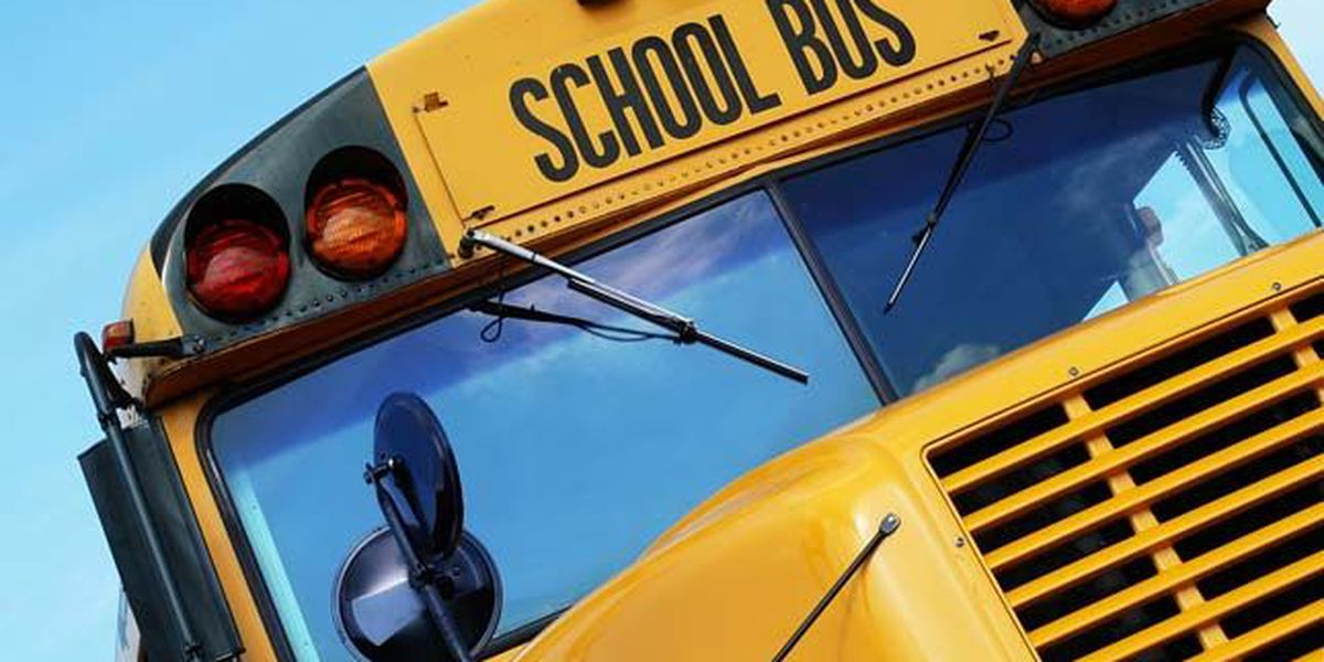 Madisonville ISD school bus crash with one critical injury