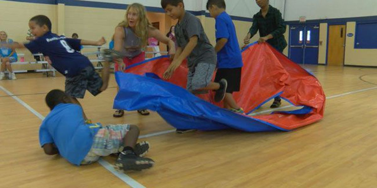 Nacogdoches Public Library hosts team-building event for kids called Epic Relays