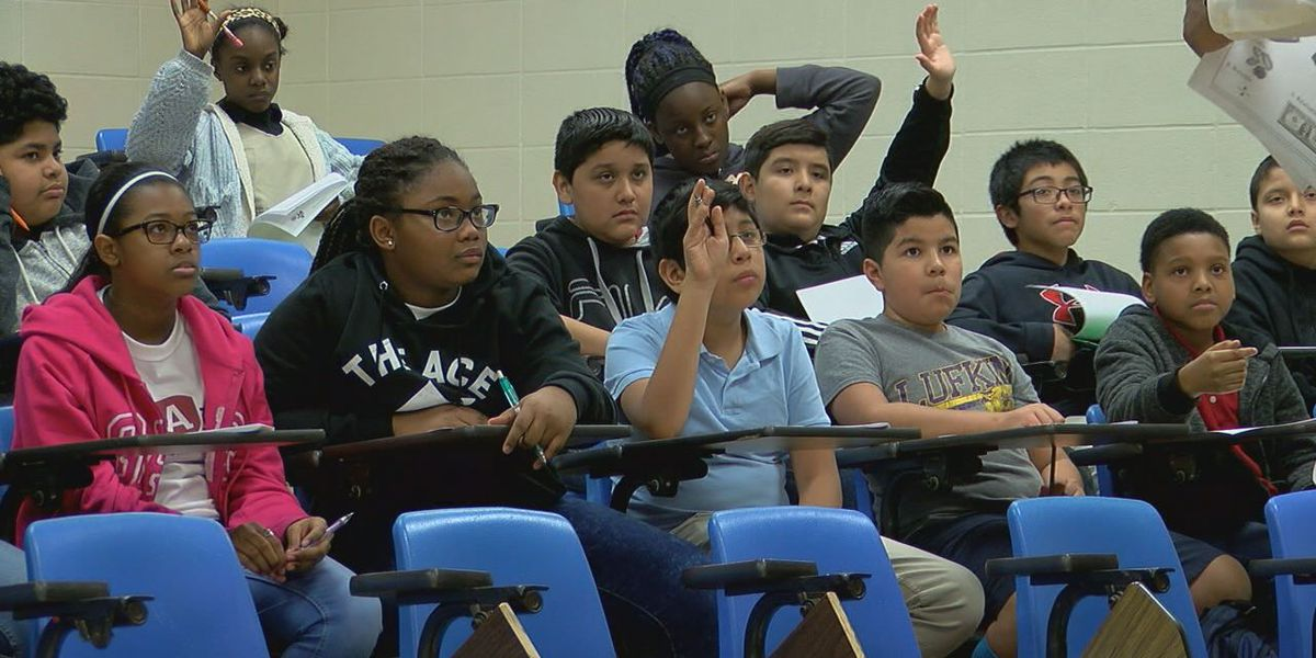 Lufkin Middle School students learn entrepreneurship, financial readiness skills