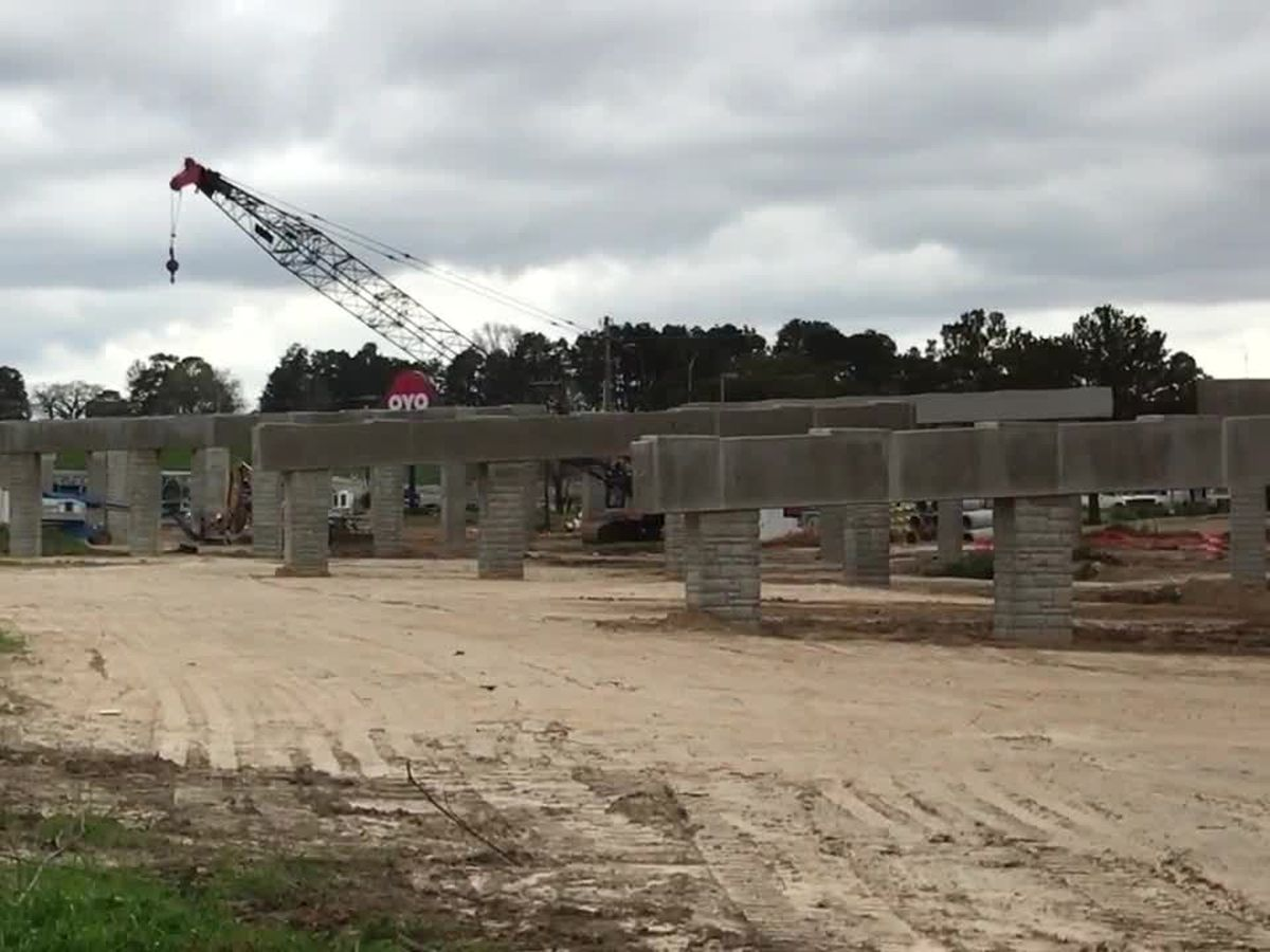 Construction on major U.S. 59 flyover project 'moving along well', TxDOT Lufkin says