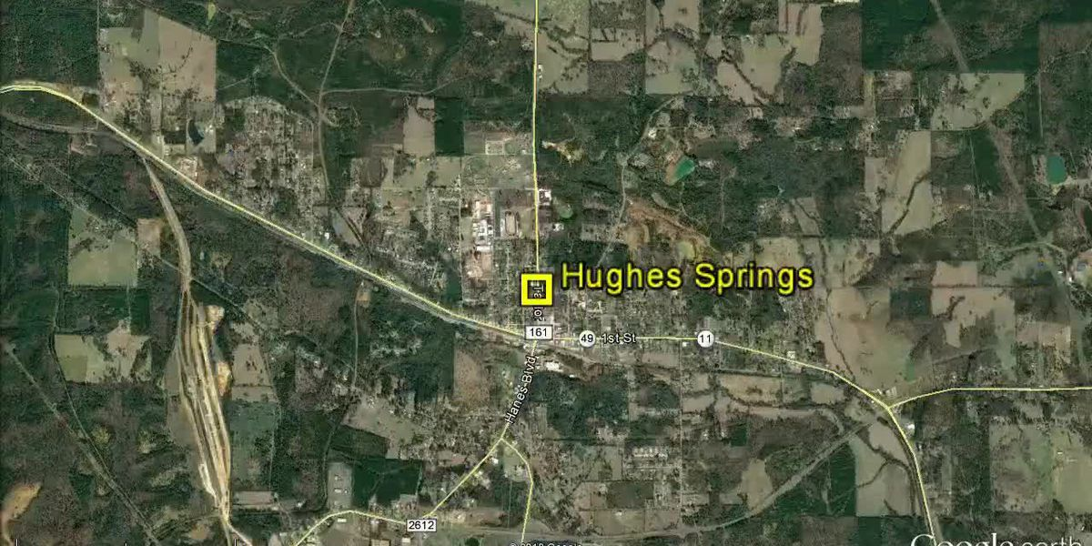 VIDEO: Hughes Springs police identify suspect arrested in FBI raid