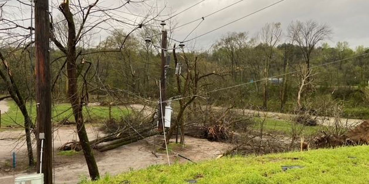 Heavy damage reported in Helena, Ala. after possible tornado