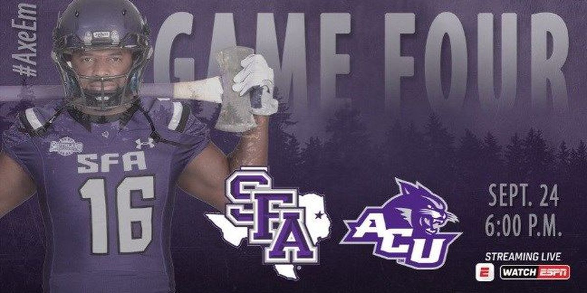 Lumberjacks return to Homer Bryce, hosting Abilene Christian Saturday
