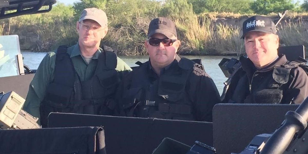 East Texas law enforcement visit border, learn of DPS efforts to beef up security