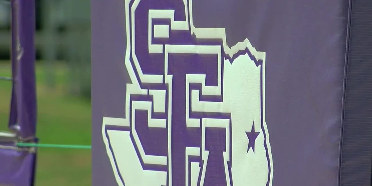 WEBXTRA: SFA team preparing for first Southland Conference Beach Volleyball Championship