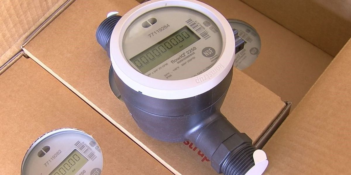 Trinity installs new 'smart' water meters