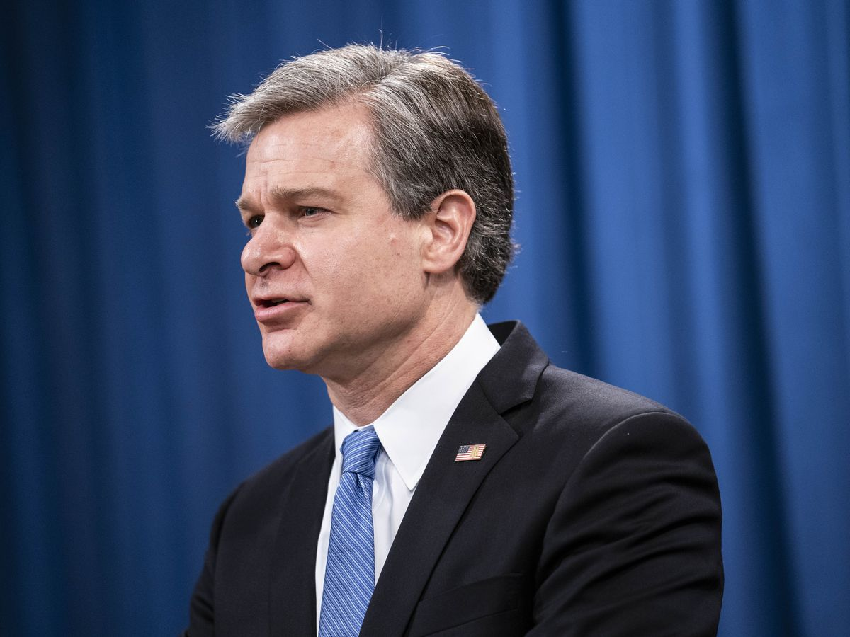 FBI chief warns violent 'domestic terrorism' growing in US