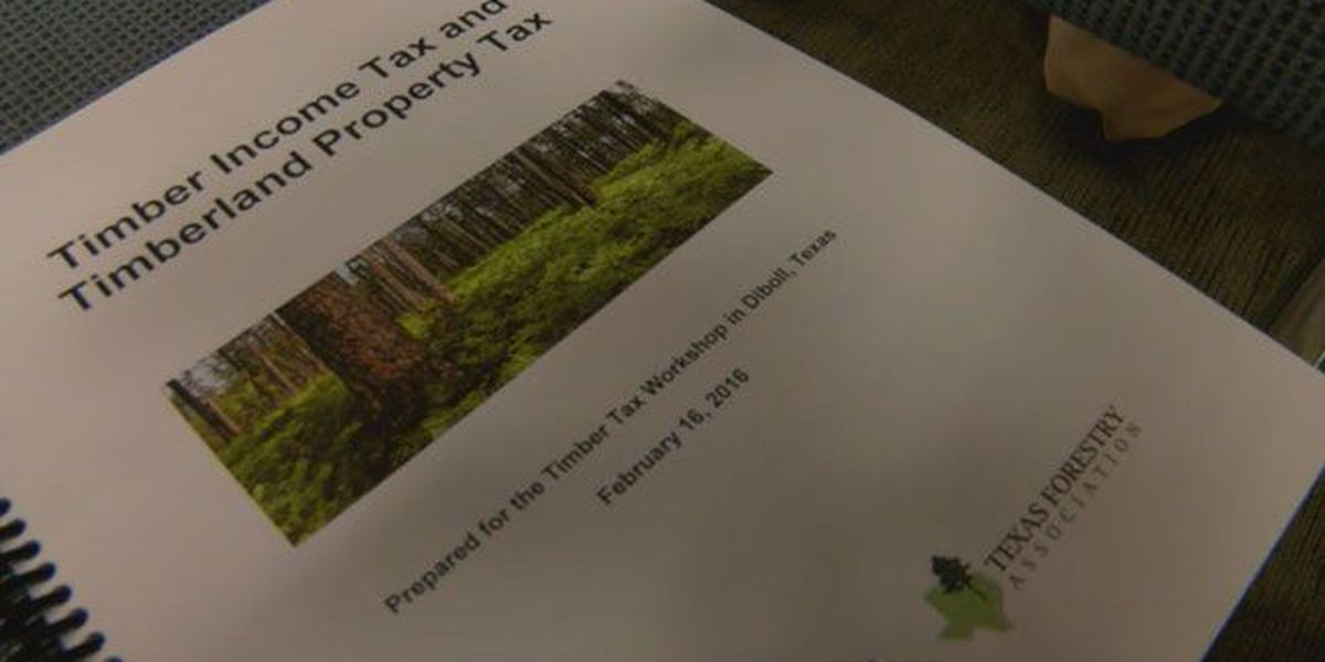 Texas A&M Forest Service hosts tax seminar aimed at East Texas timber industry