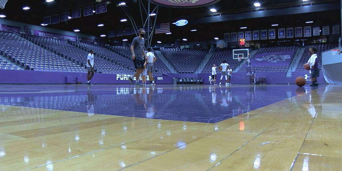 SFA basketball coaches optimistic a week from opening tip off