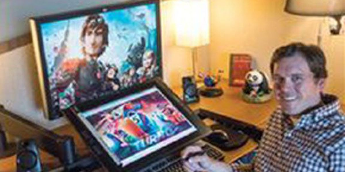 """SFA graduate worked on Golden Globe-winning """"How to Train Your Dragon 2"""""""
