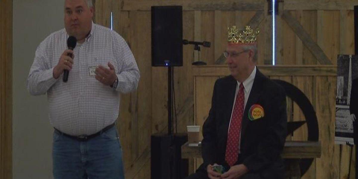 Chamber President Jerry Huffman celebrates retirement