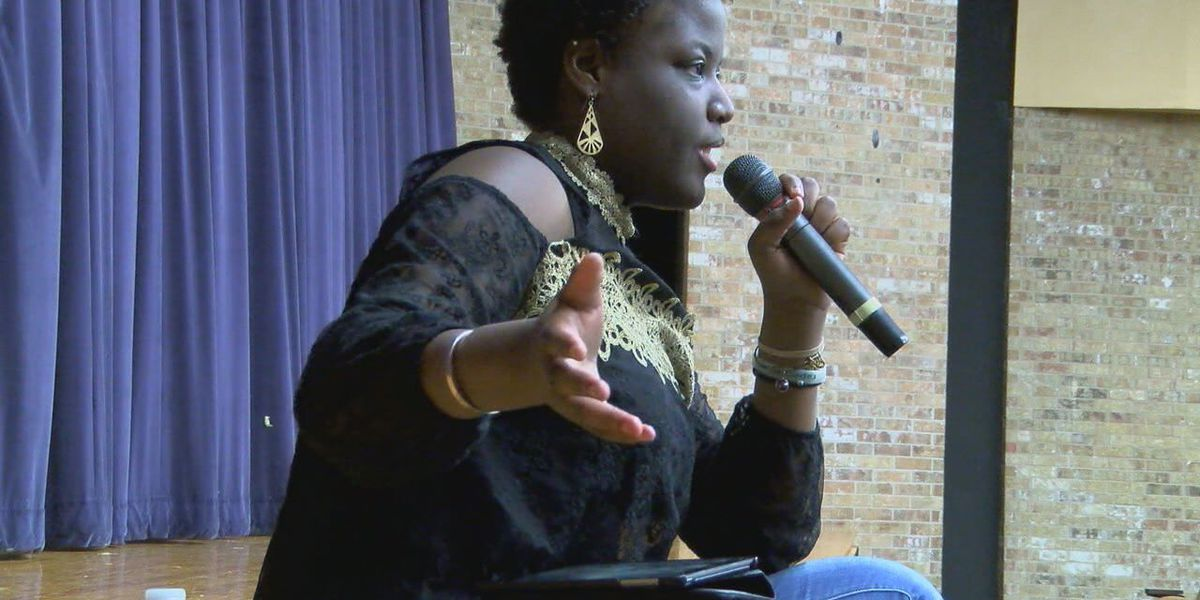 Faith Deckard living with lupus shares her message of hope