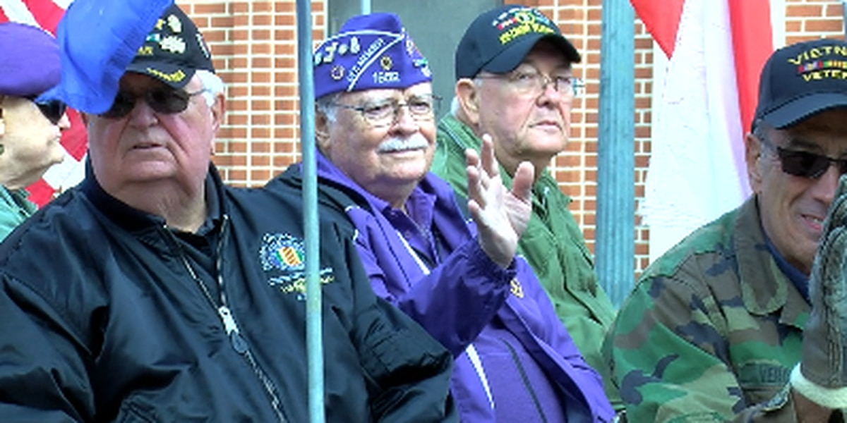 Decorated Vietnam War veteran leads parade in Nacogdoches