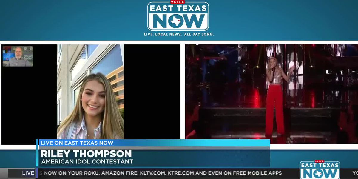 WATCH: East Texas 'Idol' contestant Riley Thompson chats about making Top 14