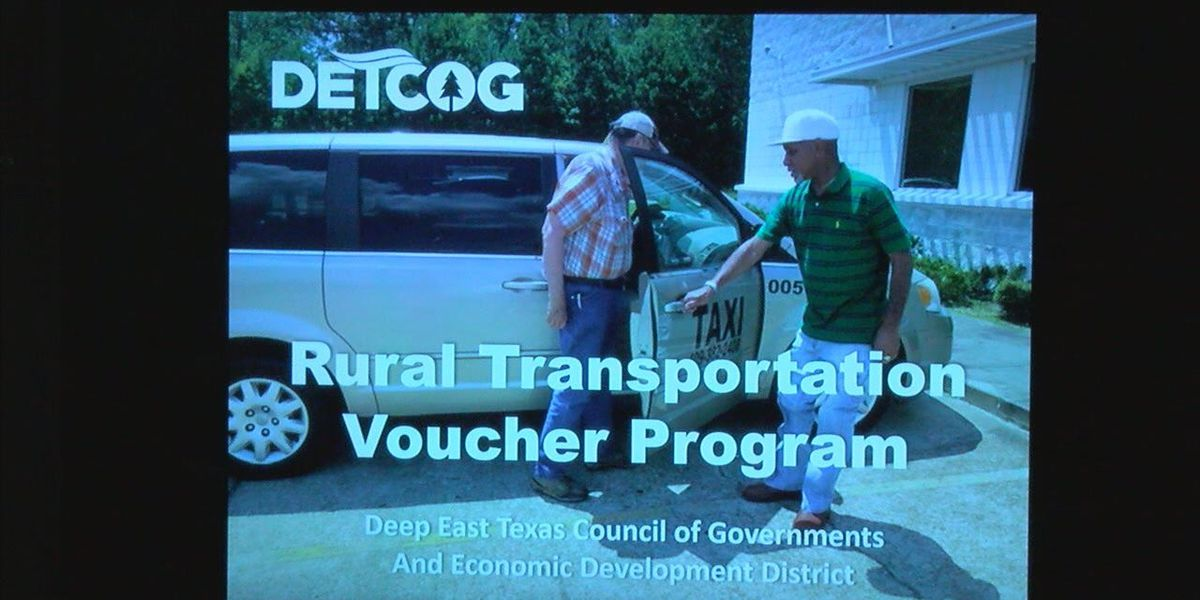 DETCOG receives regional award for their Rural Transportation Voucher Program