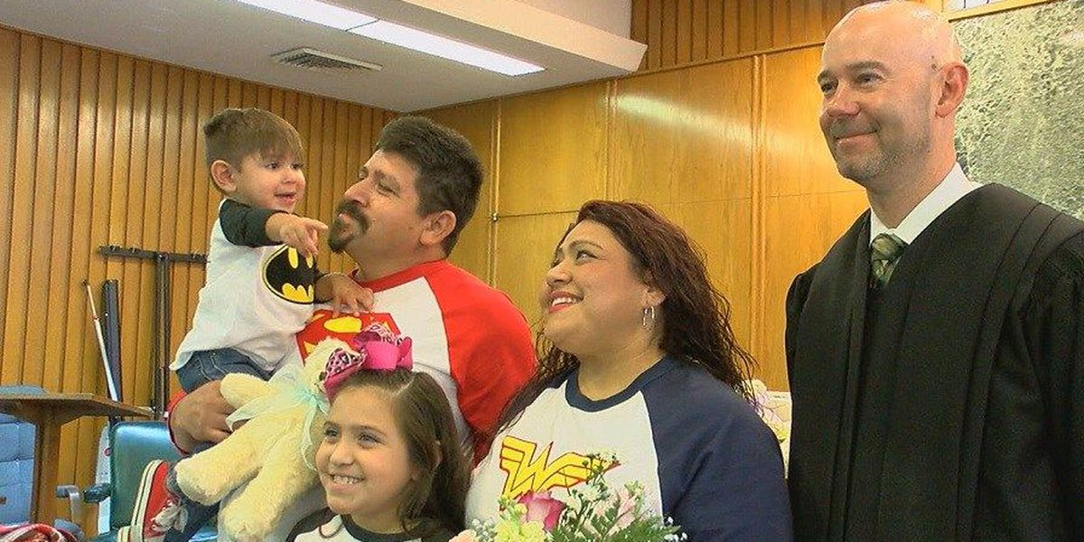 6 families welcome 12 children at Angelina County adoption day event