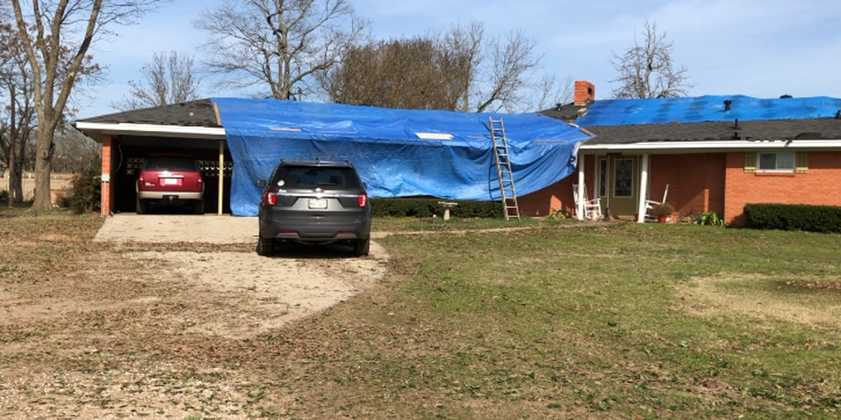 'It's just a mess right now': Rusk County family recalls night storms damaged home