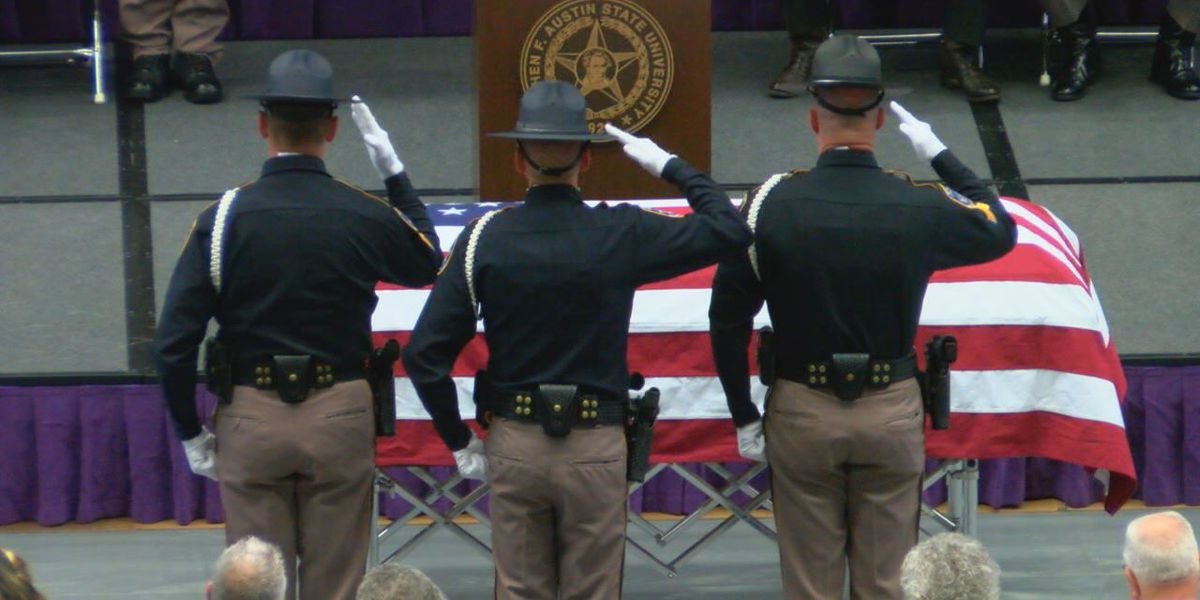 Funeral for fallen Nacogdoches County deputy pays tribute to his service, friendship
