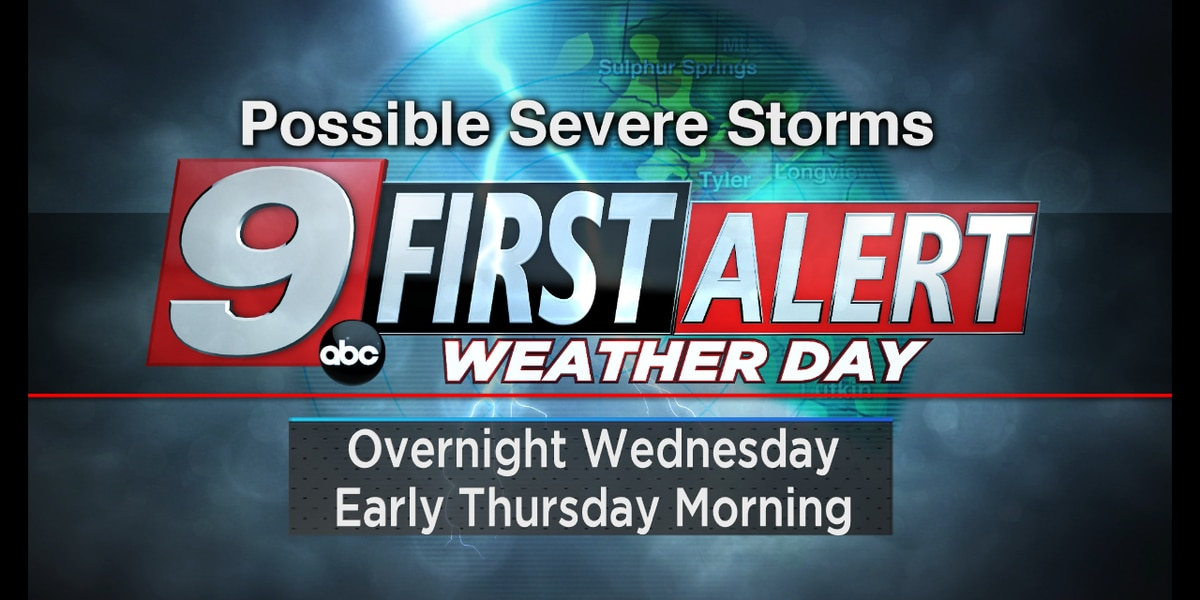 First Alert Weather Day in effect for Wednesday night, Thursday morning