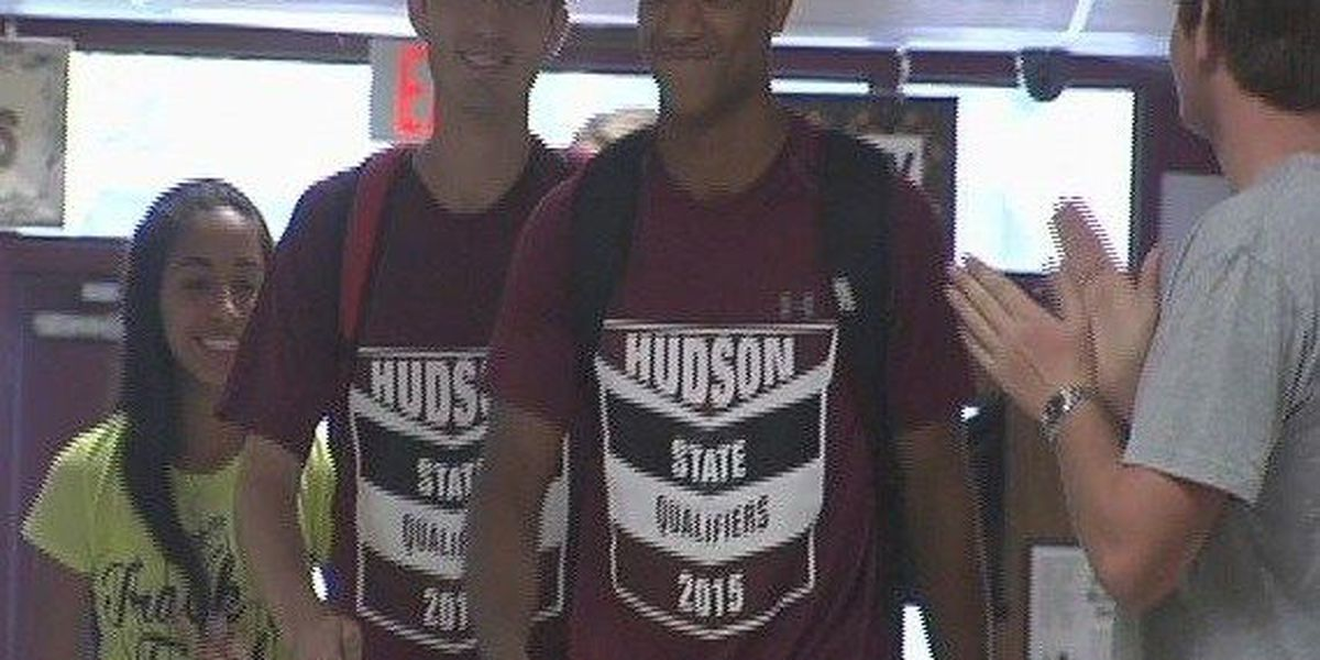 Four Hudson Hornets head to the Track and Field State Meet