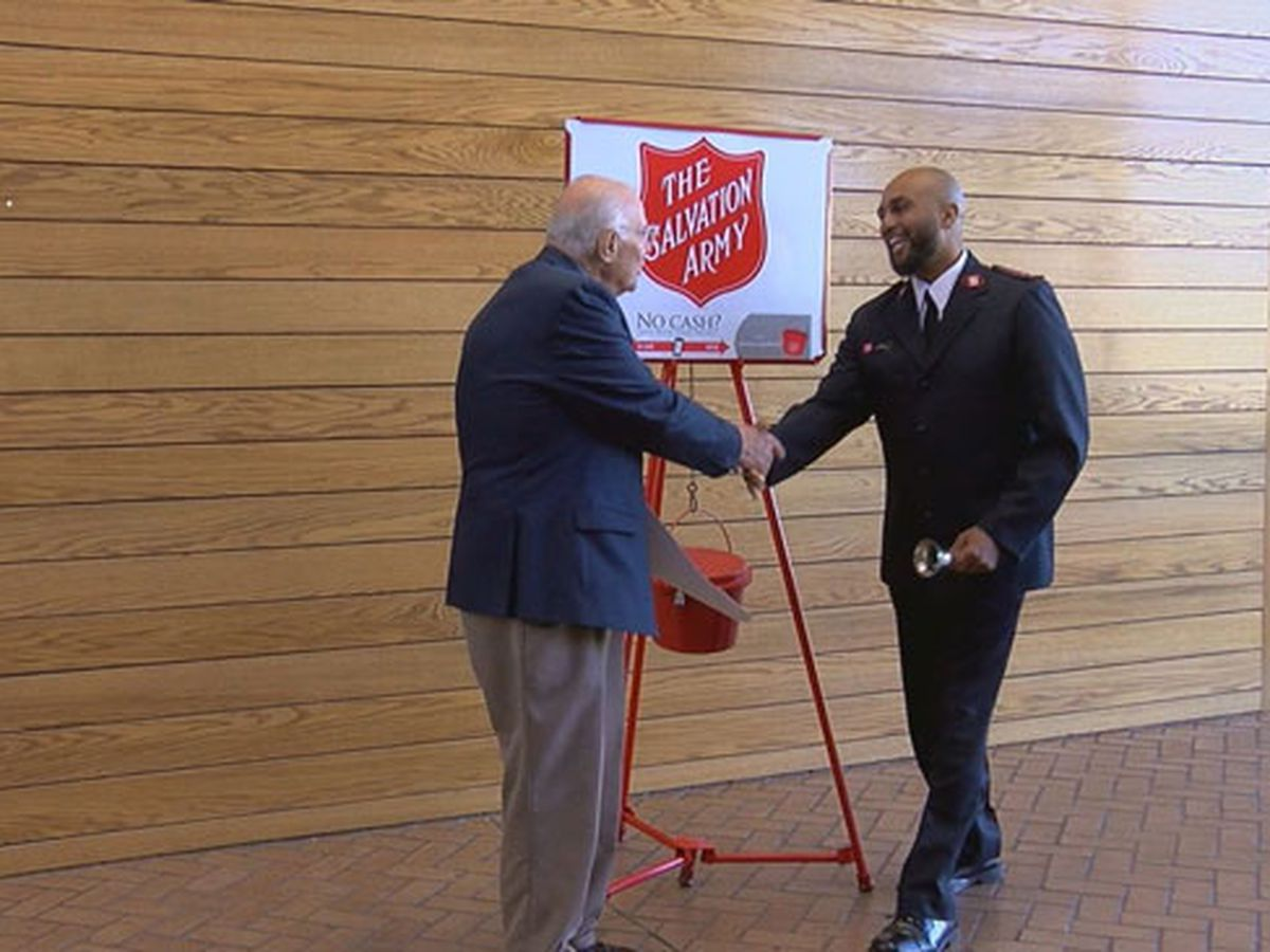 Salvation Army kicks off 2018 Red Kettle Campaign at Lufkin City Hall