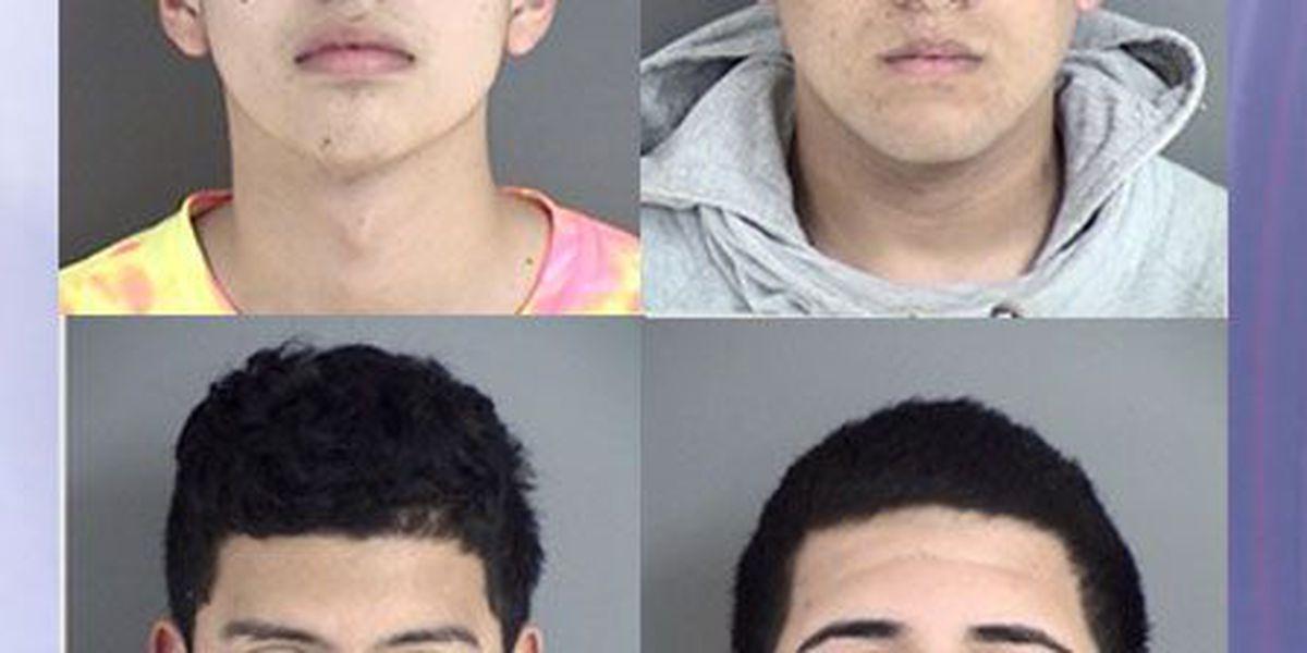 Affidavit: Four Lufkin men stole, golf cart, 2 mules, drinks from LHS