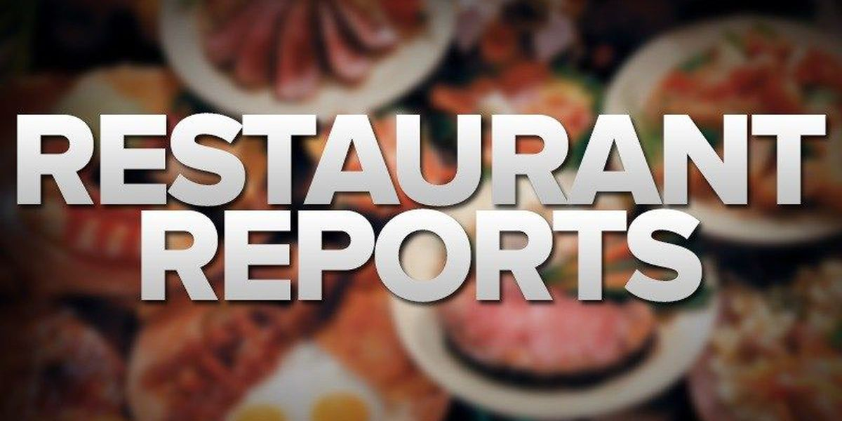 Restaurant Report - Angelina County -04/12/18