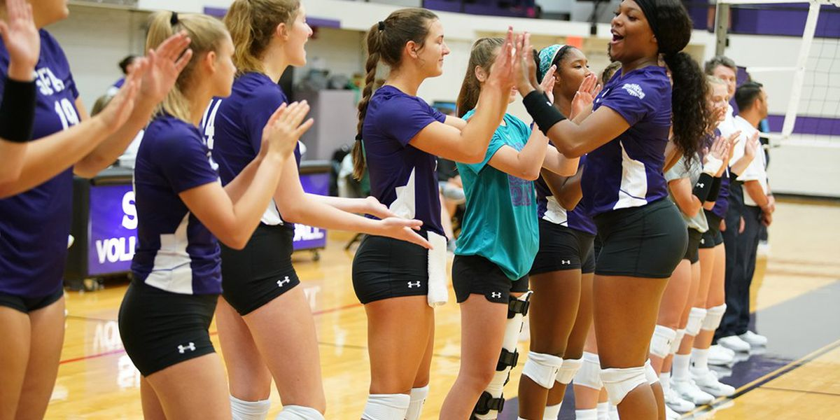 Sendoff for SFA volleyball to national tournament set for Wednesday night