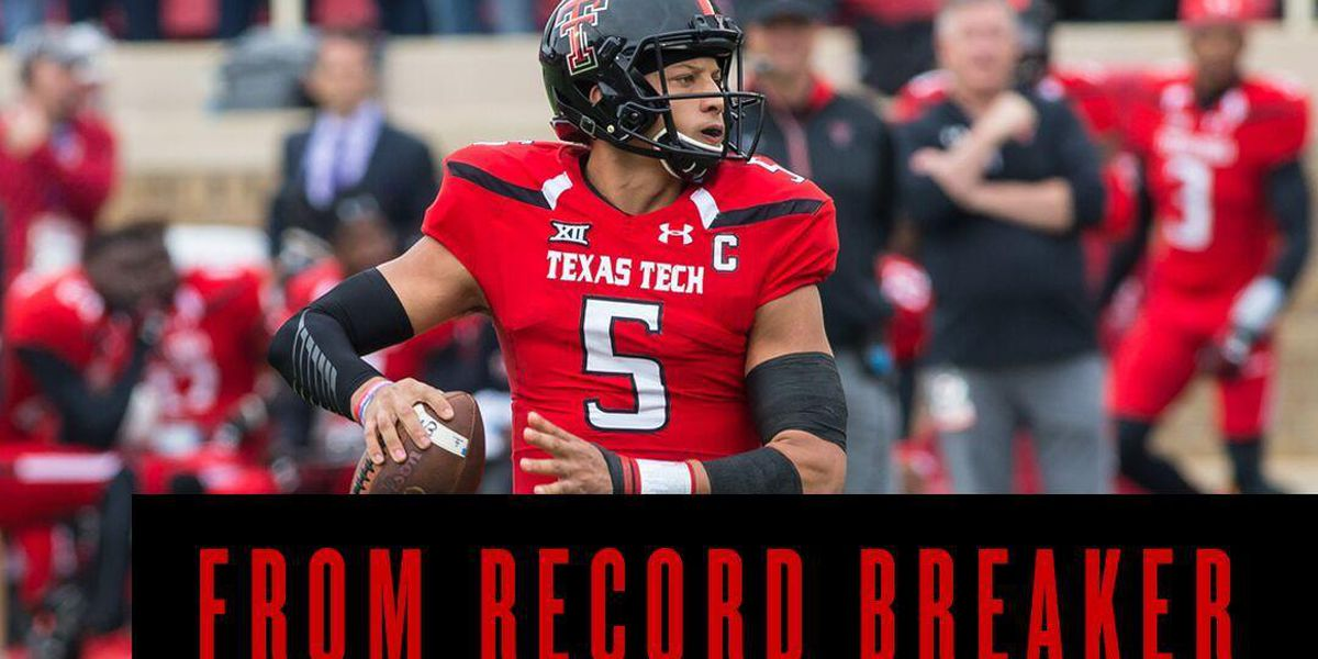 Texas Tech to feature Patrick Mahomes in Super Bowl ad campaign