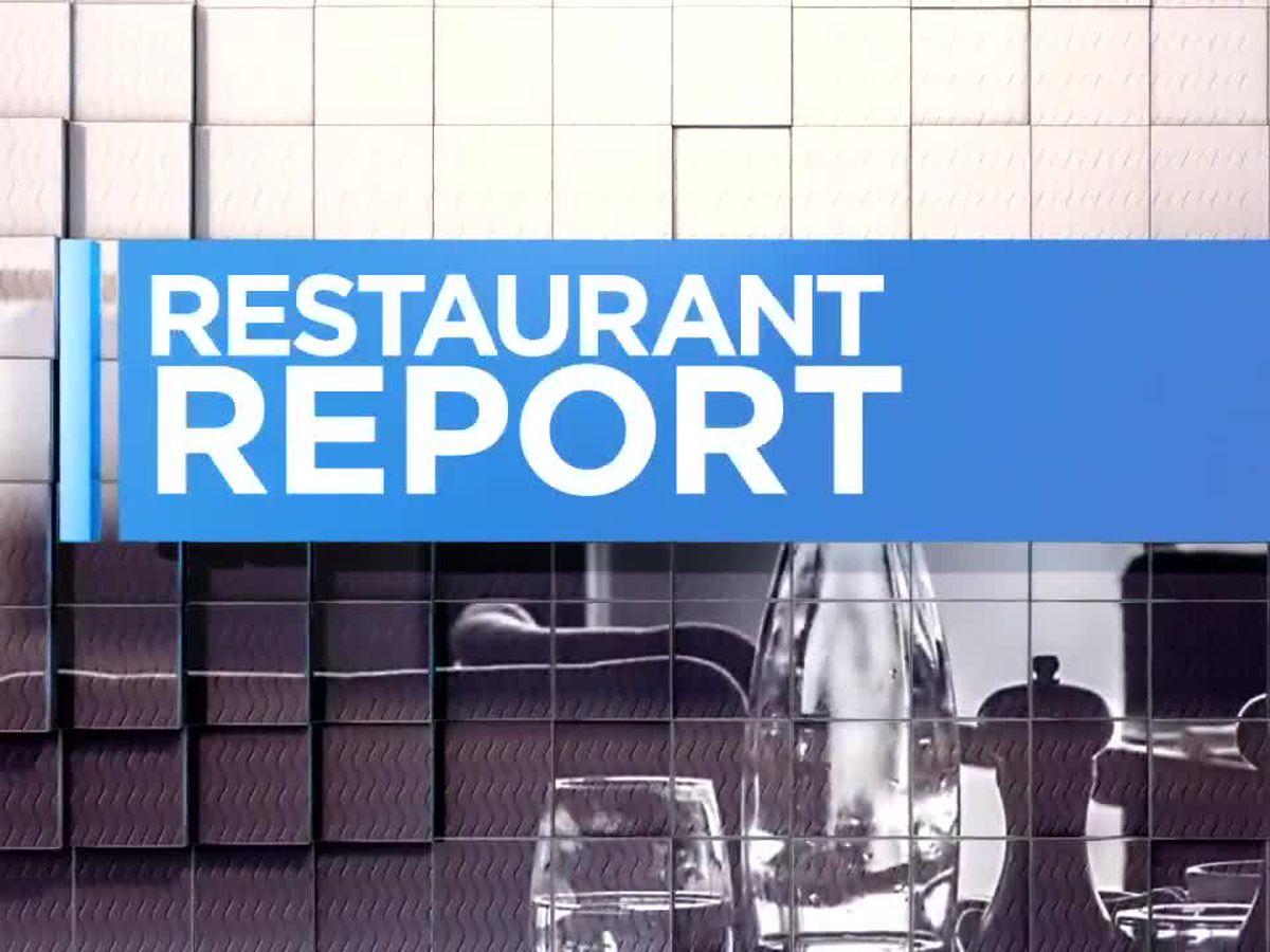 Restaurant Report - Nacogdoches - 11/29/18