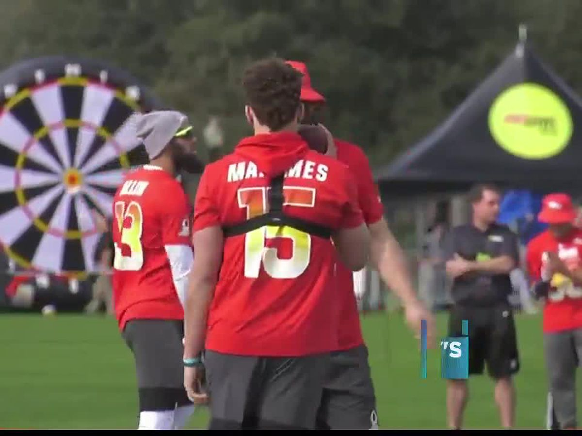 One game left: Mahomes prepares for 2019 Pro Bowl