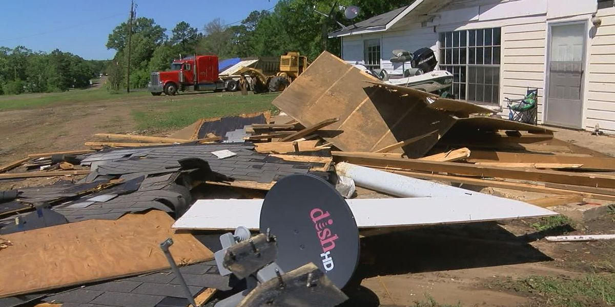 NWS confirms tornado in San Augustine County over the weekend