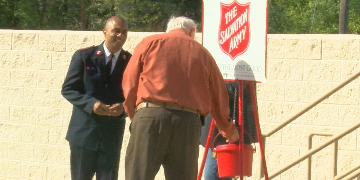 Salvation army kicks off red kettle campaign in Lufkin