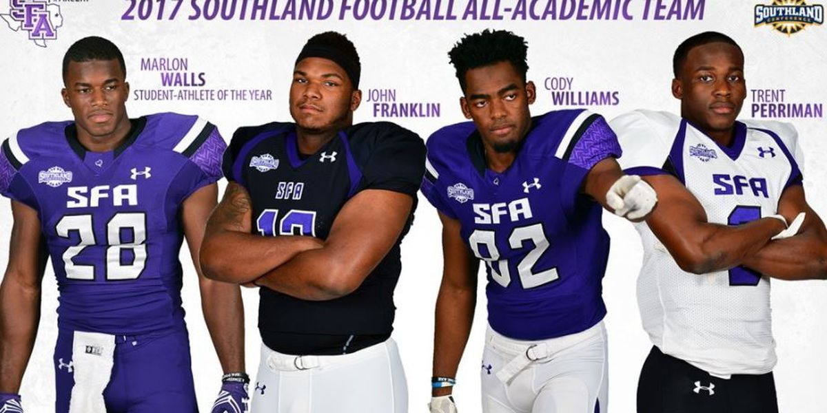 Walls Repeats as Football Student-Athlete of the Year, Highlights Southland All-Academic Team